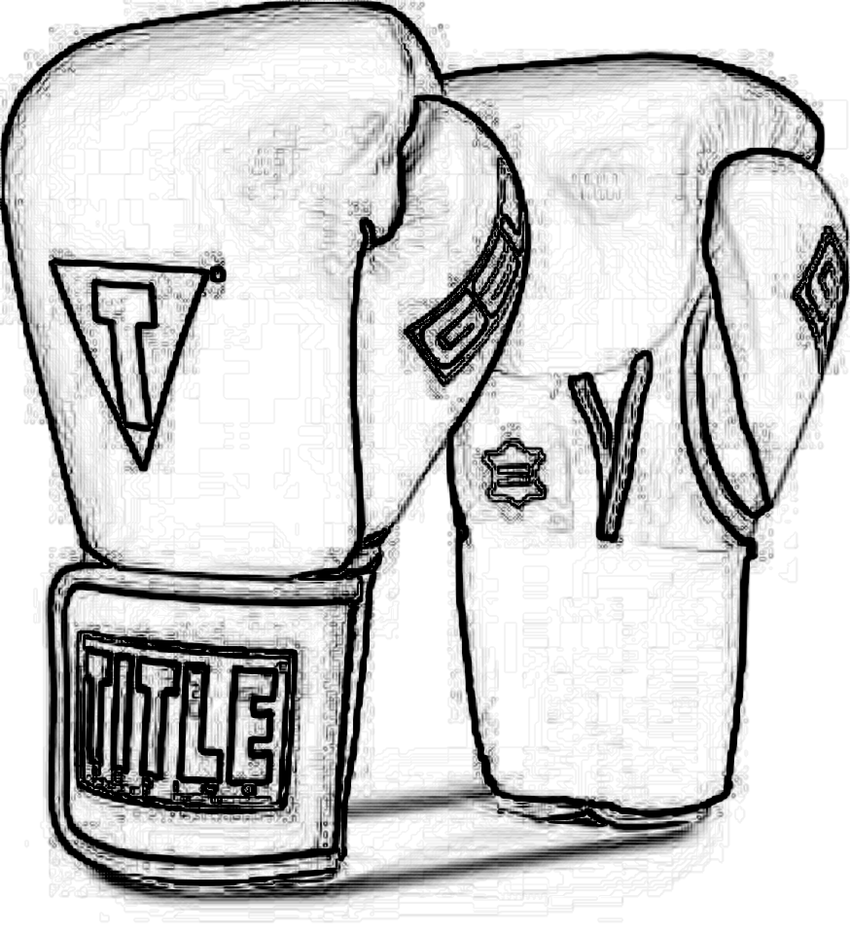 Boxing Gloves Drawn - ClipArt Best