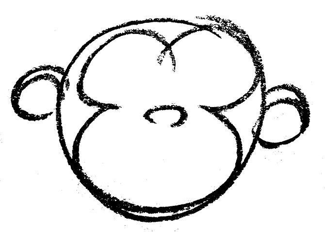 Monkey Face Clip Art - ClipArt Best