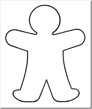 Blank Handprint Template - ClipArt Best