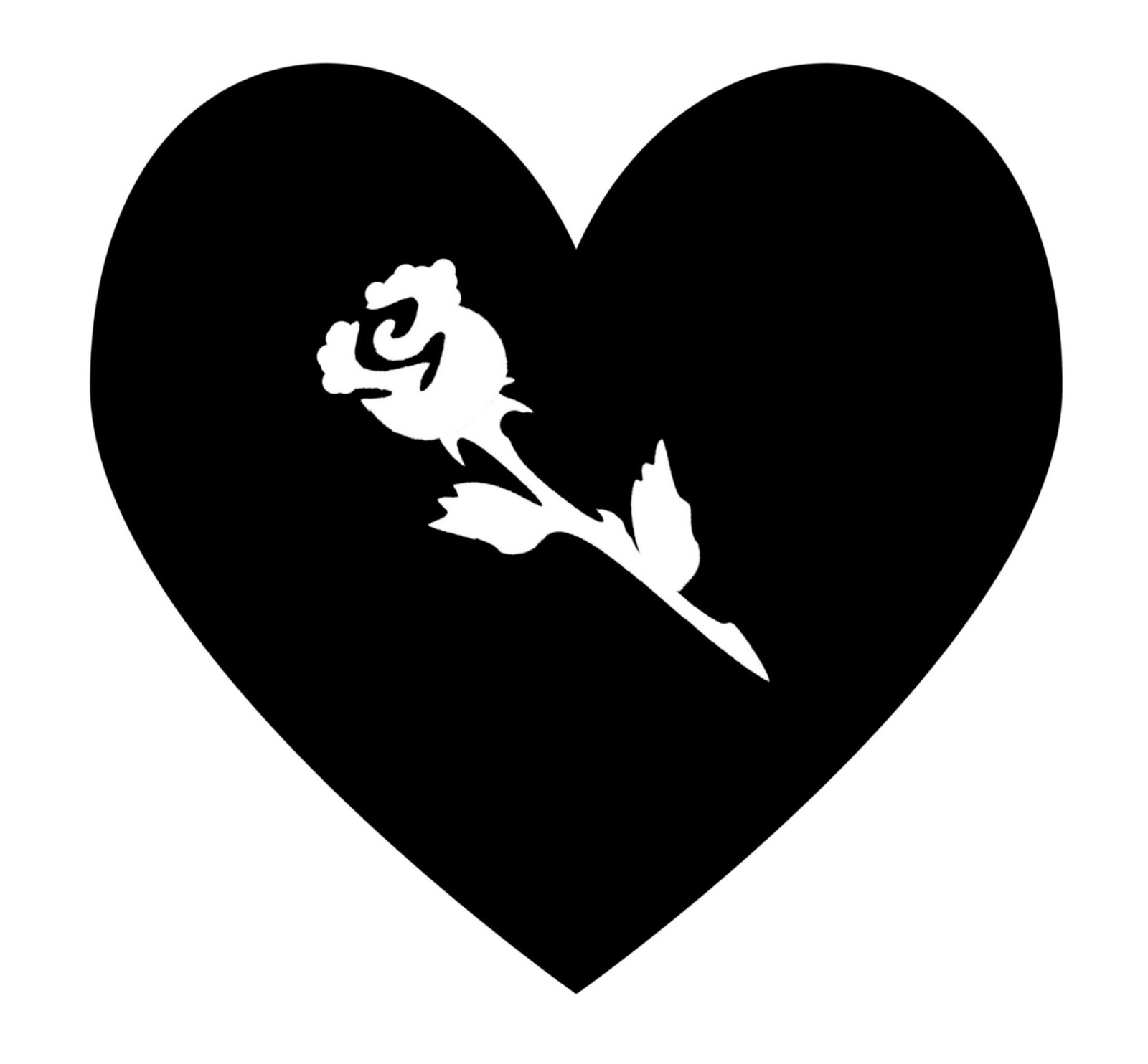 Heart Silhouette - ClipArt Best