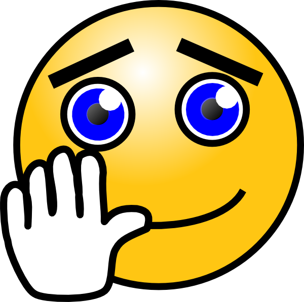 Smiley Face Waving Goodbye - ClipArt Best
