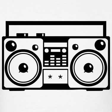 Drawing Of Boombox - ClipArt Best - ClipArt Best