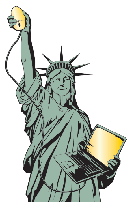 Statue Of Liberty Cartoon - ClipArt Best