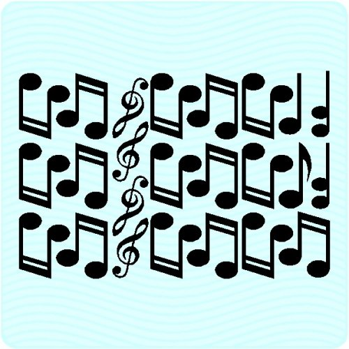 24 Music Notes Wall Decals Art Graphics Musical Stickers