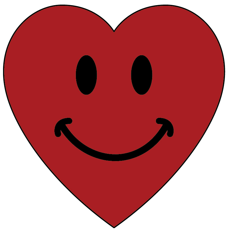 heart smiley clipart best Dancing Smiley Face Clip Art Confused Smiley Face Clip Art