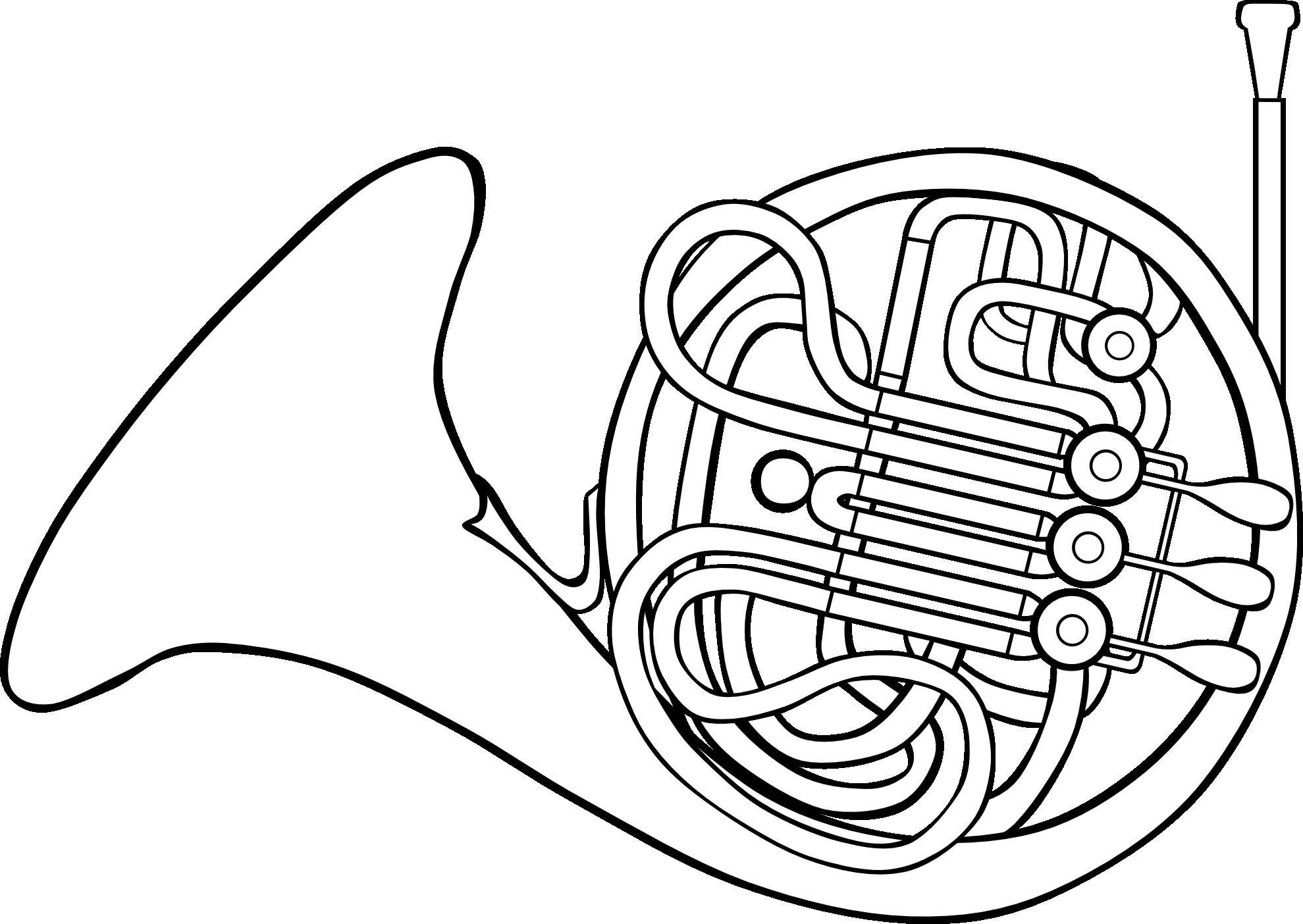 Clip Art French Horn Clipart french horn clipart best etc gerald g svg