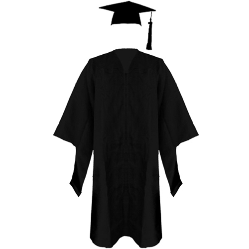 Graduation Gown And Cap - ClipArt Best