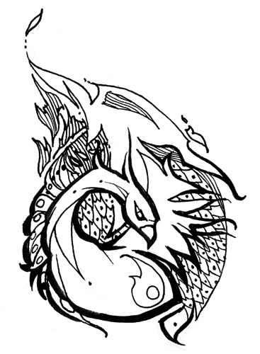 Free Tattoo Line Drawings - ClipArt Best