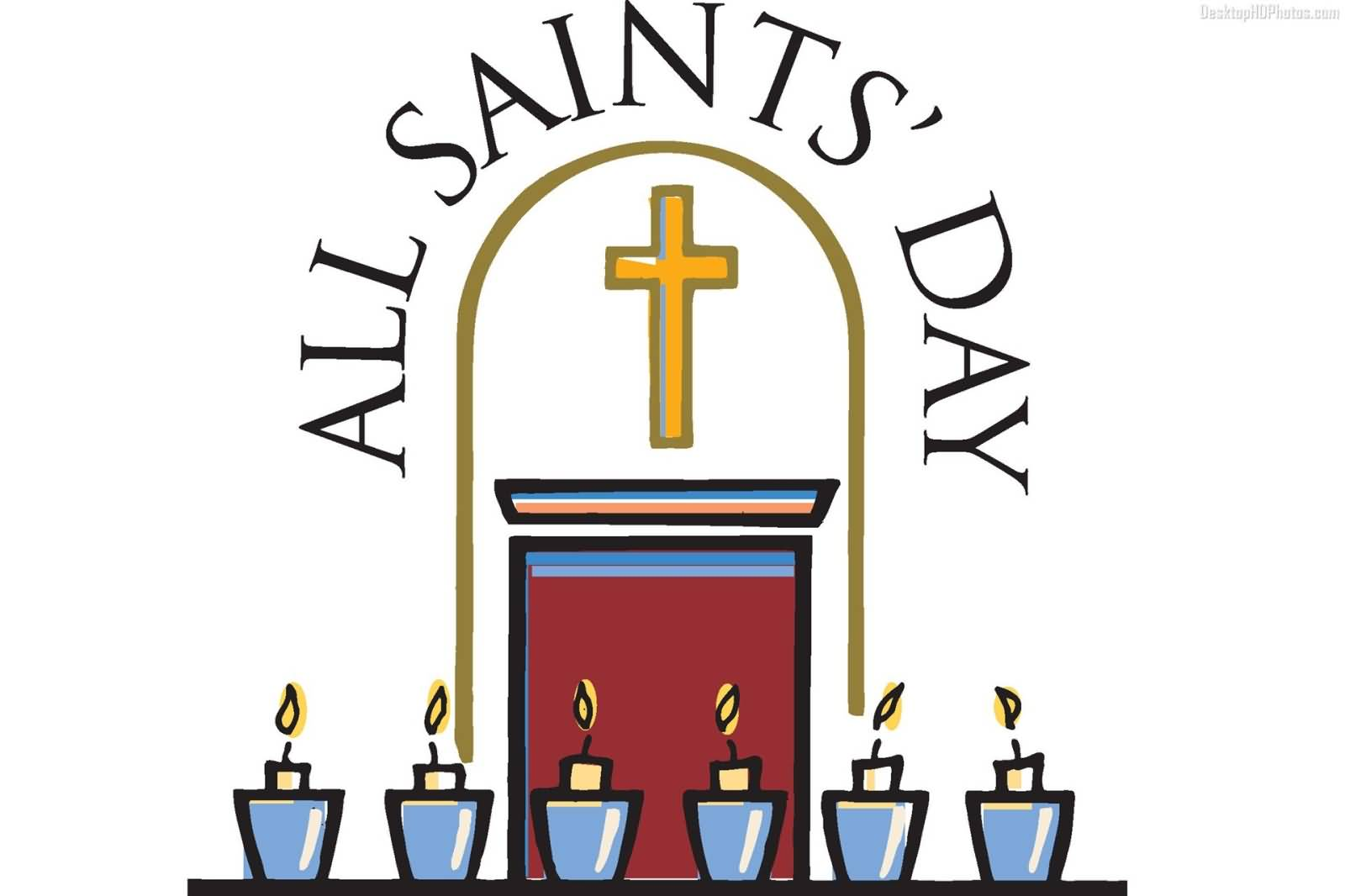 All Saints Day Clip Art - ClipArt Best