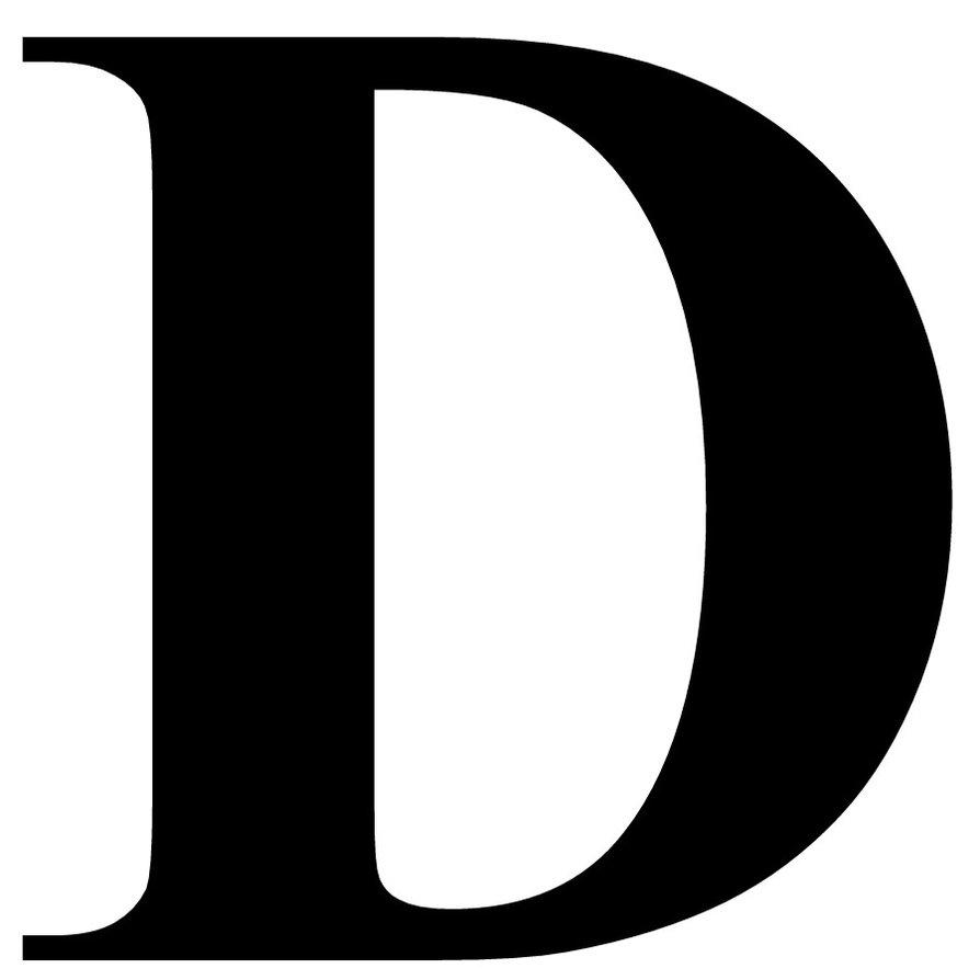 D S Letters Letter D - ClipArt Bes...