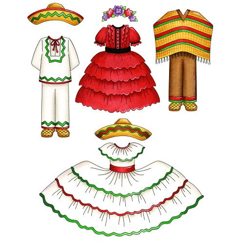 Cinco De Mayo Girl Clip Art - ClipArt BestMexican Traditional Clothing For Boys