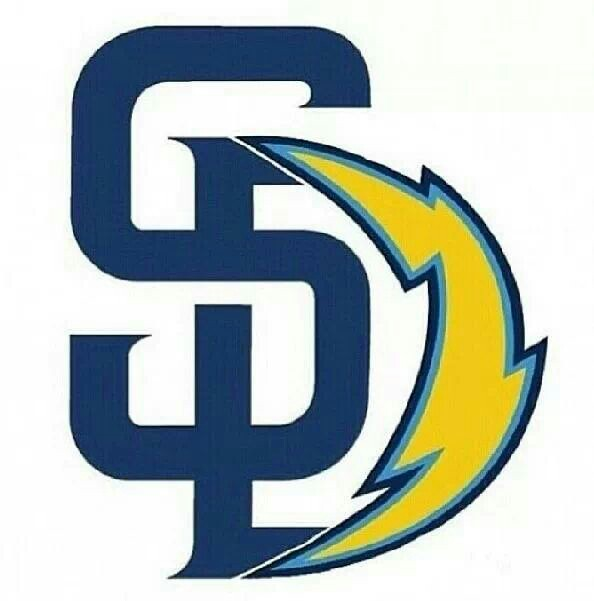 San Diego Chargers Drawings: San Diego Chargers Logo Clip Art Free Download