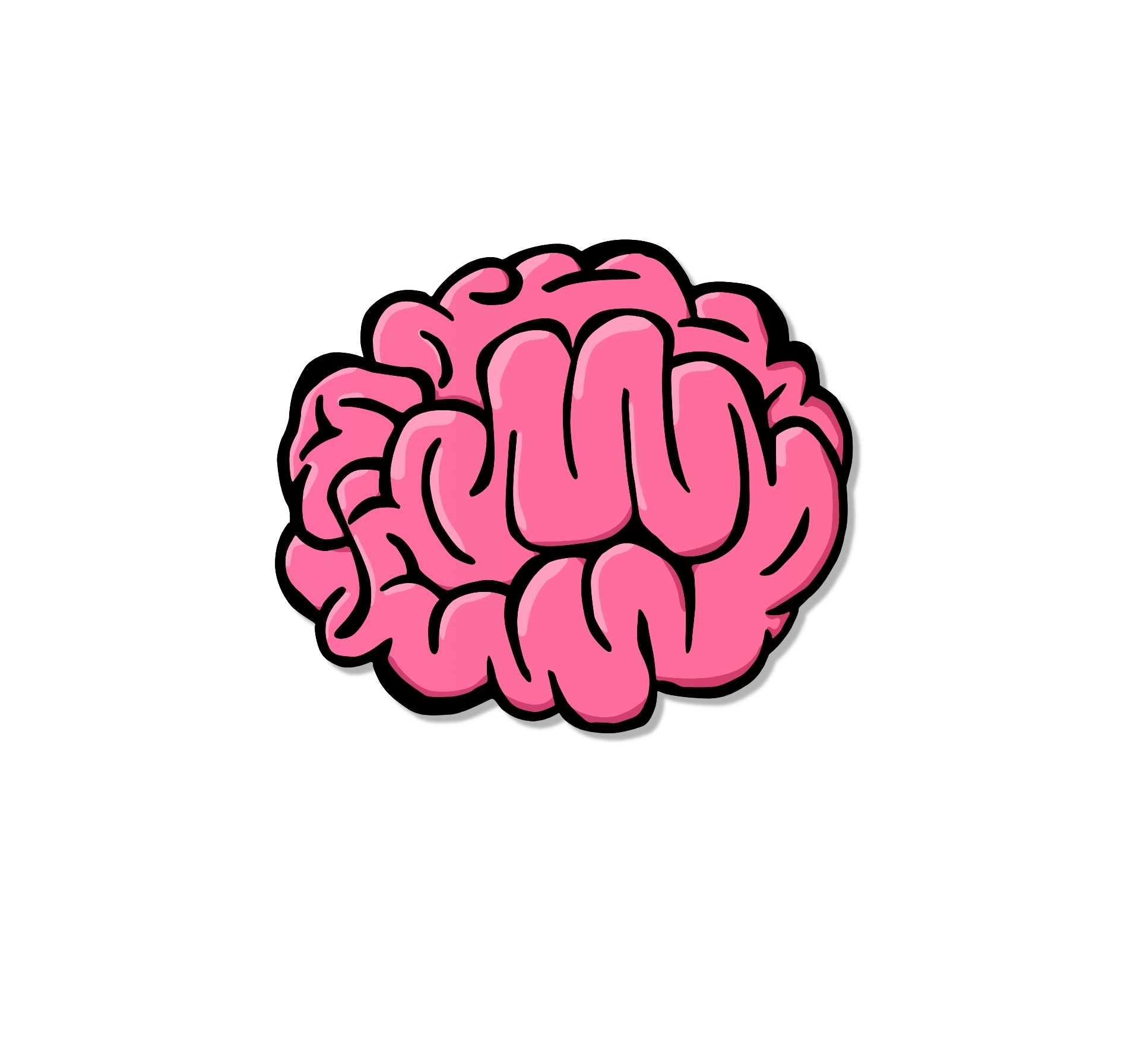 cartoon brain pictures clipart best