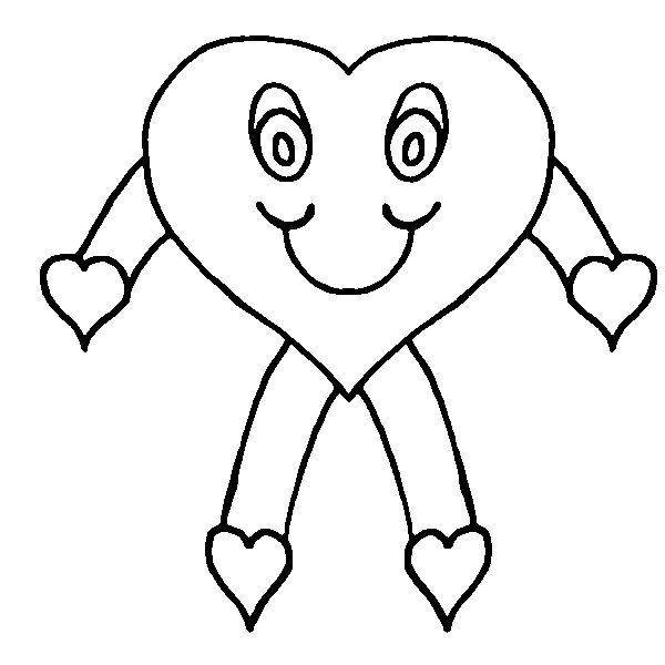 Heart print out clipart best for Heart coloring pages to print out