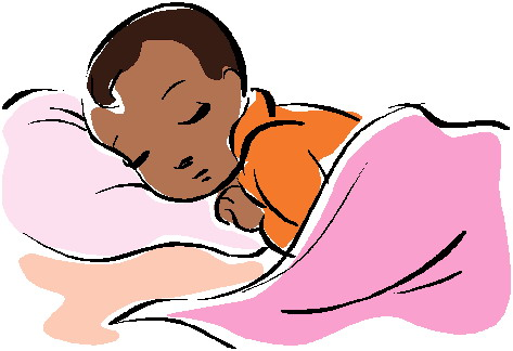 Sleeping Baby Clip Art - ClipArt Best