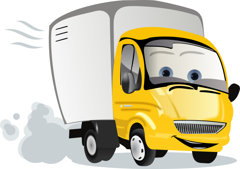 free clip art cartoon trucks - photo #8