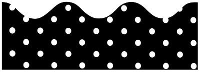 Black Polka Dot Border - ClipArt Best