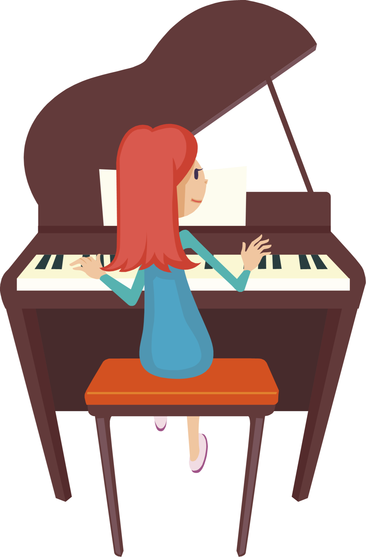 Piano Player - ClipArt Best