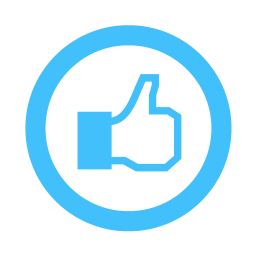 Icon Like Facebook Vector Clipart Best