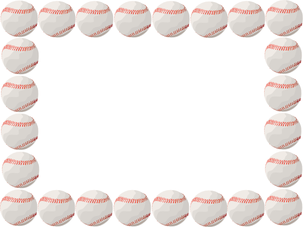 baseball borders for microsoft word