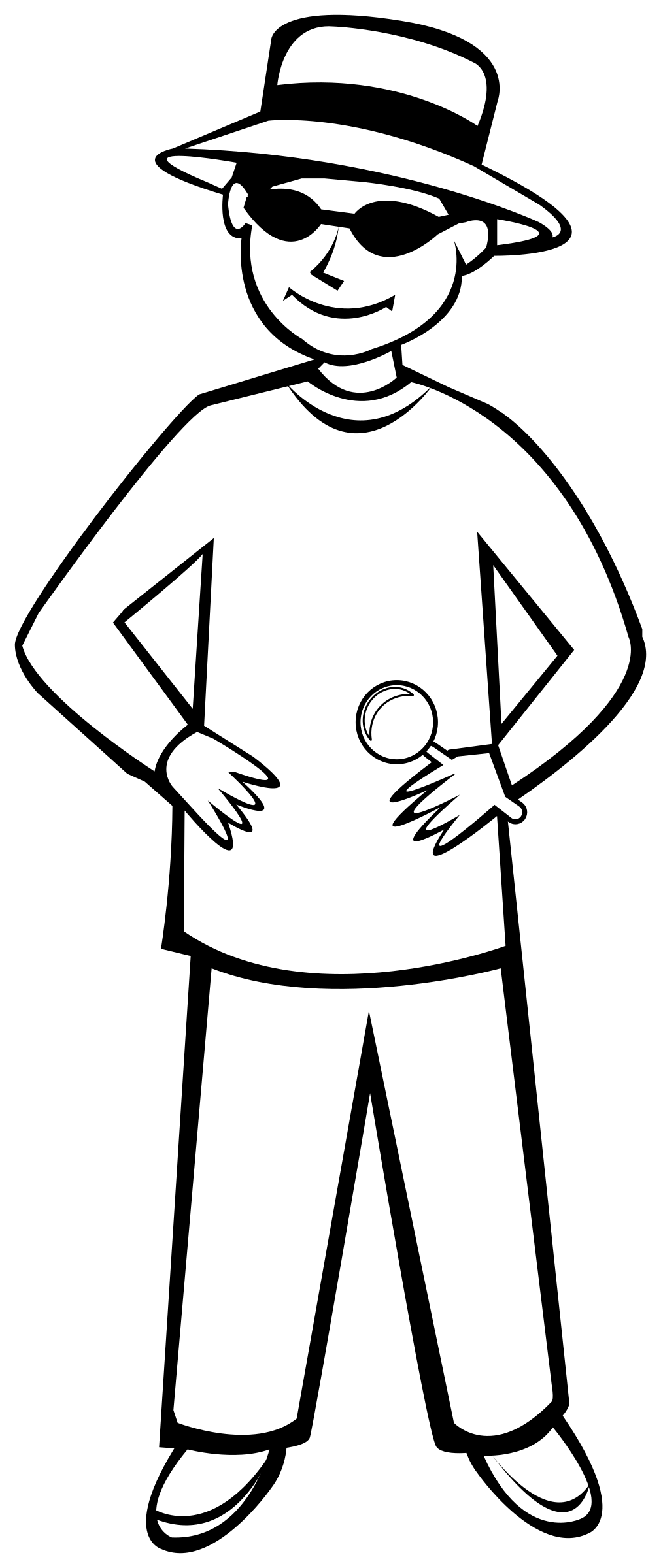 Outlines Of People - ClipArt Best