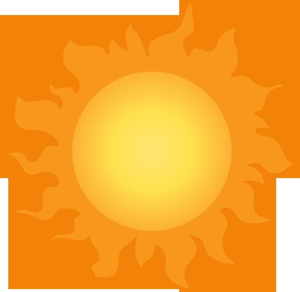 Sunny Weather Symbol : Sunny weather symbol clipart best