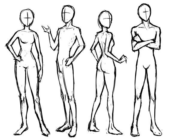 Performance Artists  figure drawings