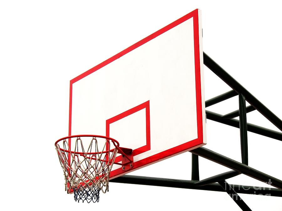 Basketball Hoop Photograph by Yali Shi - Basketball Hoop Fine Art ...