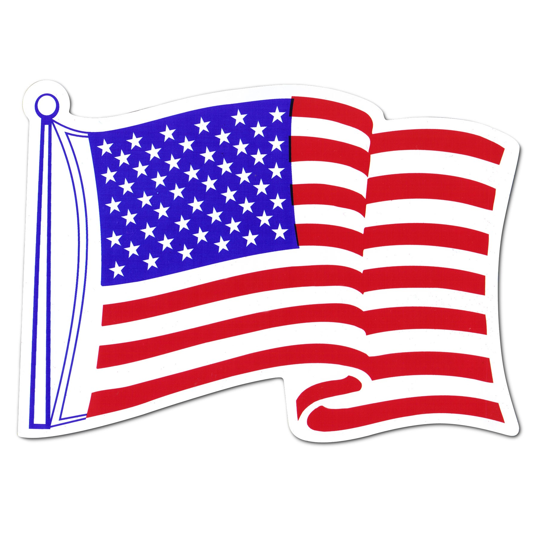 clip art of american flag animated - photo #14