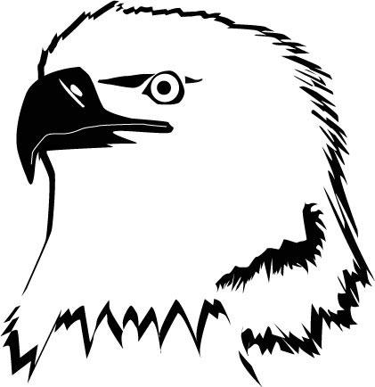 Eagles Logo Outline Eagle Head Outline