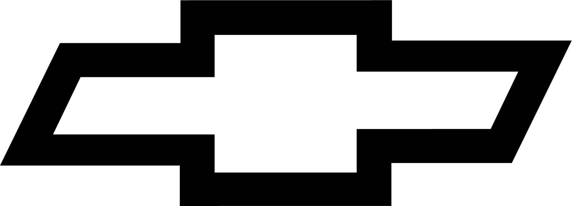 Chevy Bowtie Emblem Stencil Chevy Logo - ClipArt B...