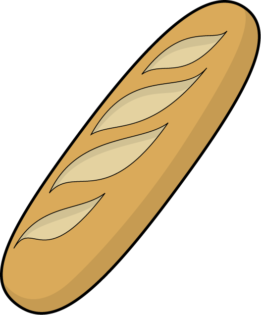 French Baguette Drawing Bakery Baguette Clip Art