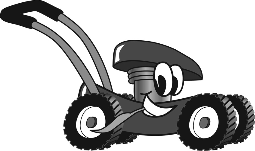 Lawn Mower Vector Free Download Free Clipart of Lawn Mower