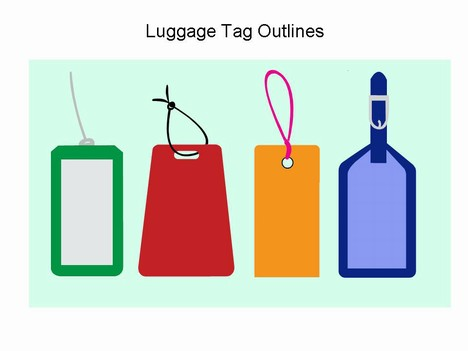 Pix For > Luggage Tag Clip Art - ClipArt Best - ClipArt Best