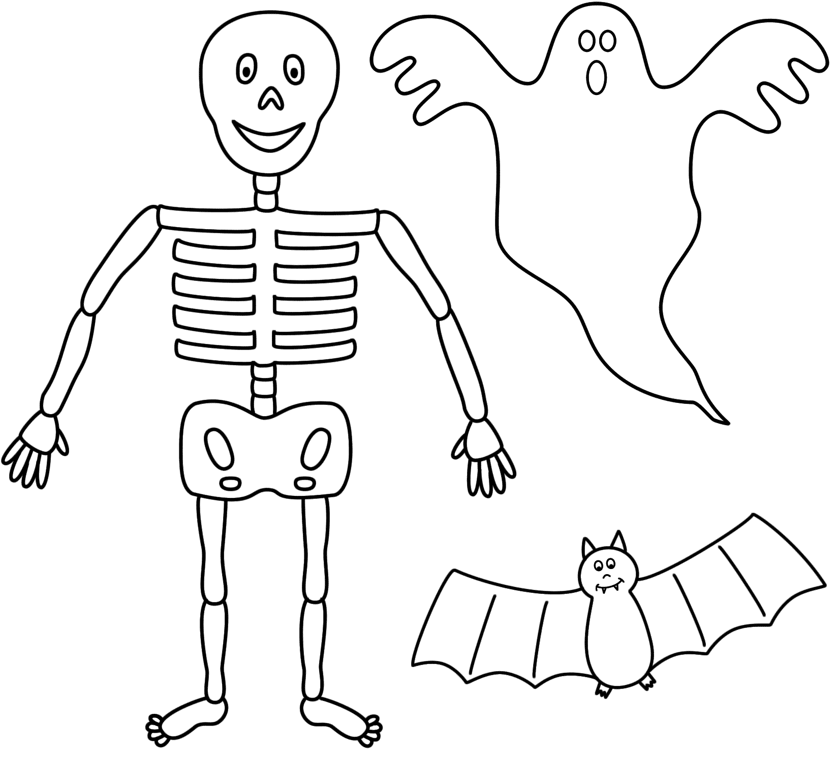 Printable skeleton template cut out clipart best for Skeleton template to cut out