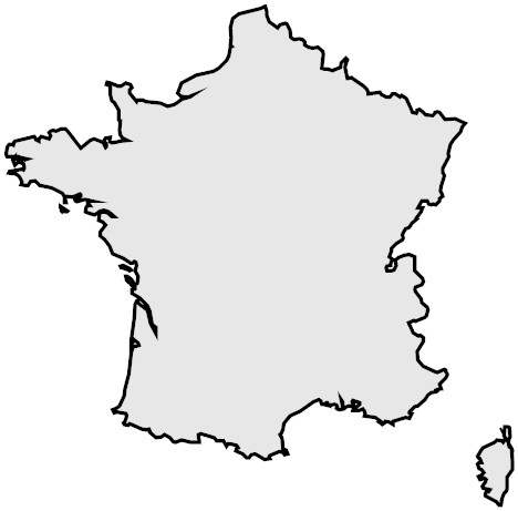 Map Of France Outline - ClipArt Best