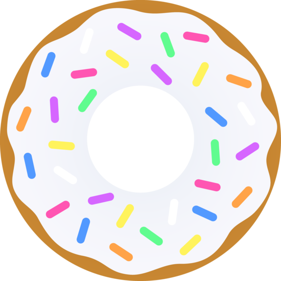Doughnut clipart | Clipart Panda - Free Clipart Images