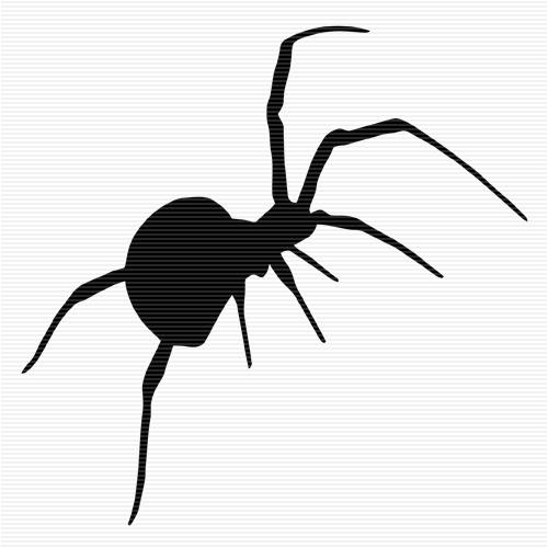 Silhouette Spider - ClipArt Best