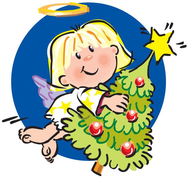 Christmas Angels Clip Art - ClipArt Best