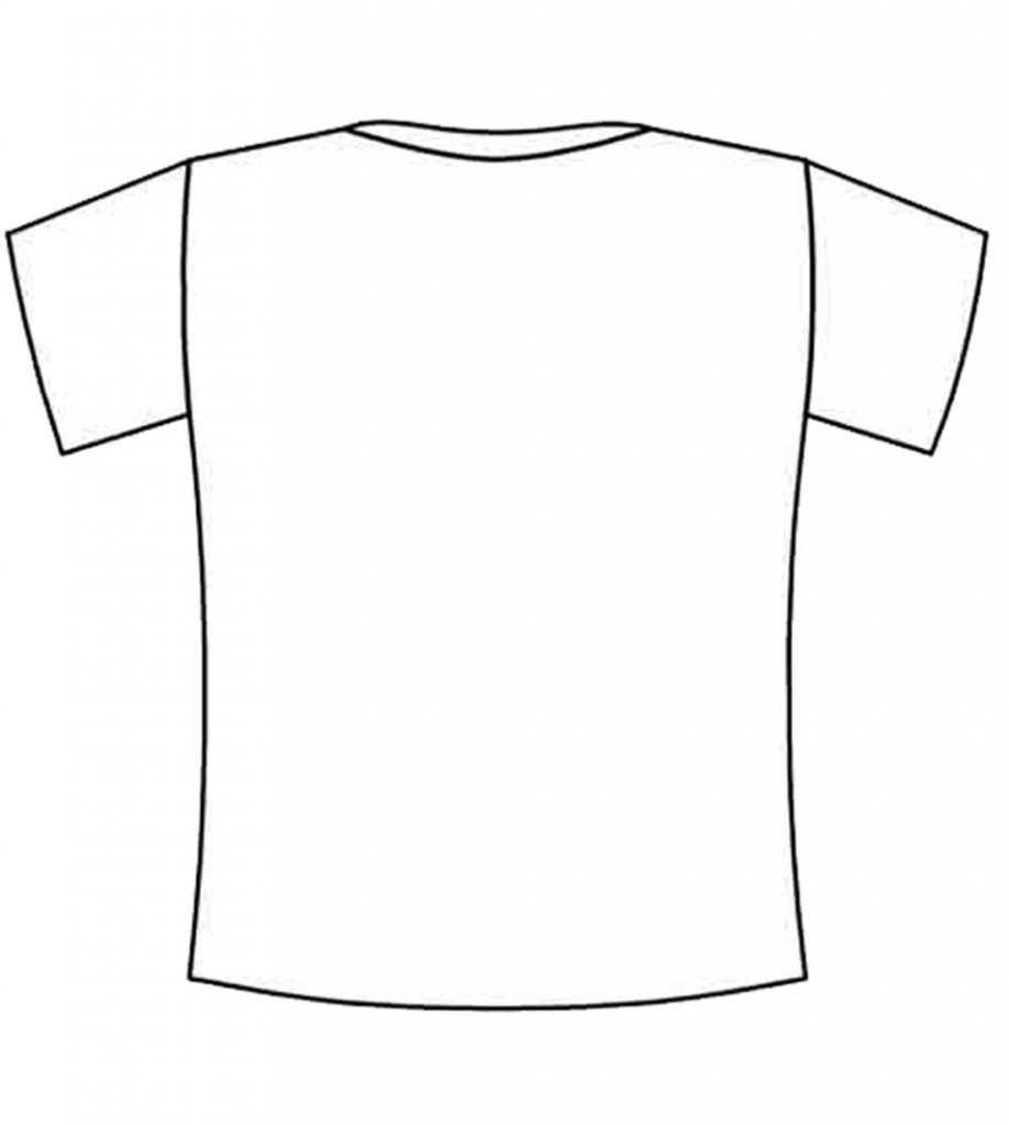 Blank T Shirt Printable ClipArt Best