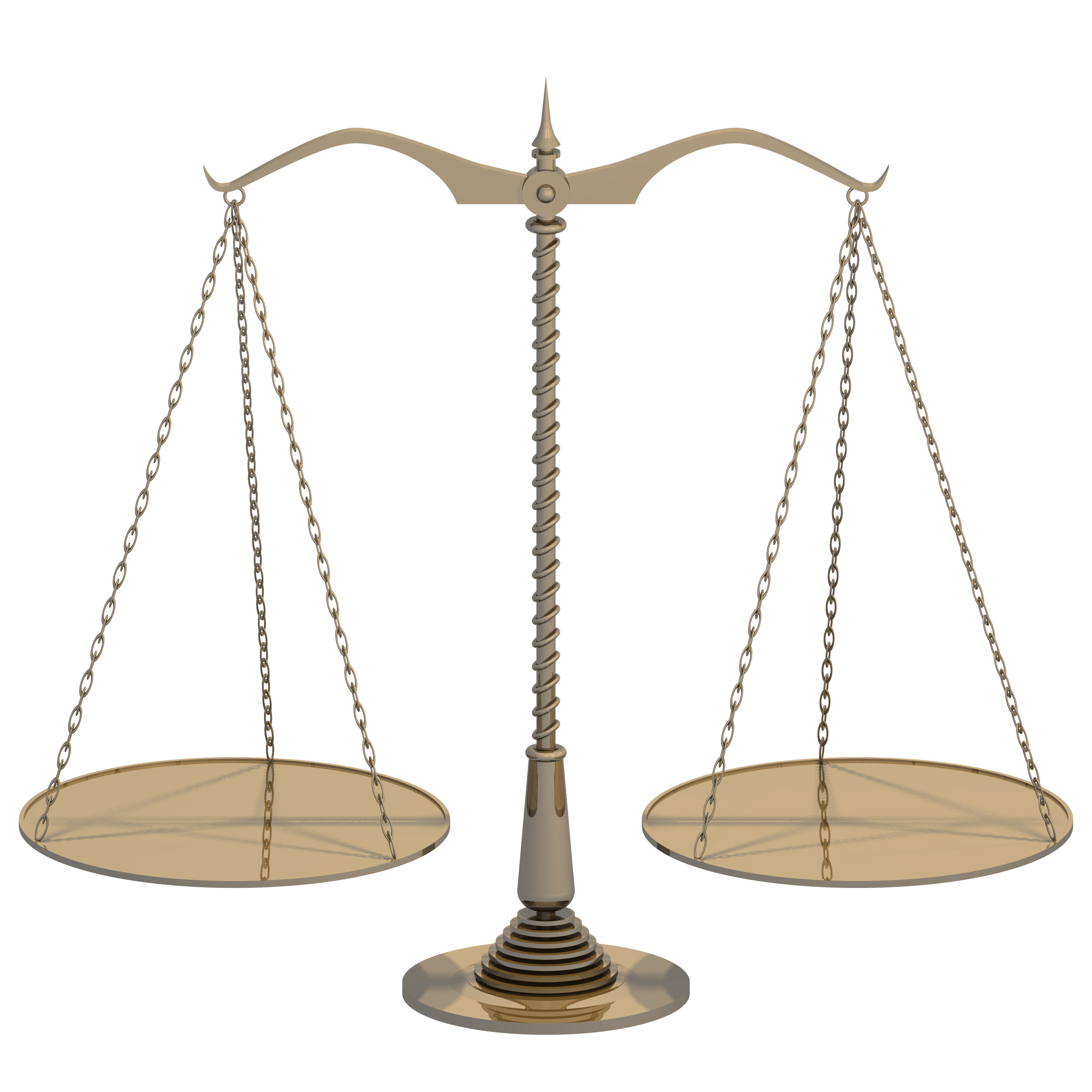 Brass scales with flat trays balanced.png