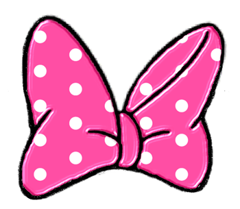 Minnie Mouse Bow Clip Art - Free Clipart Images