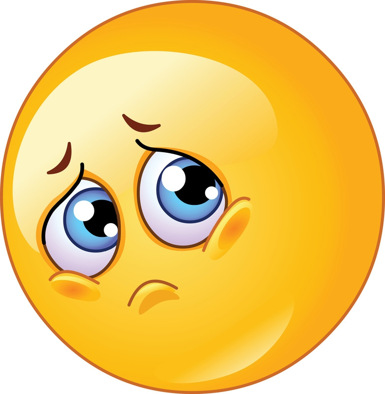 Really Sad Face Emoticon - ClipArt Best