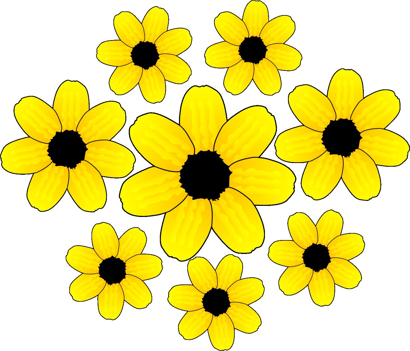 Flower clip art  Etsy