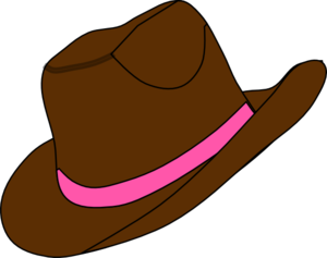 Cowgirl Hat Clipart Clipart Best