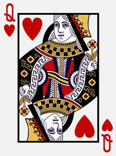 queen of hearts card template -#main