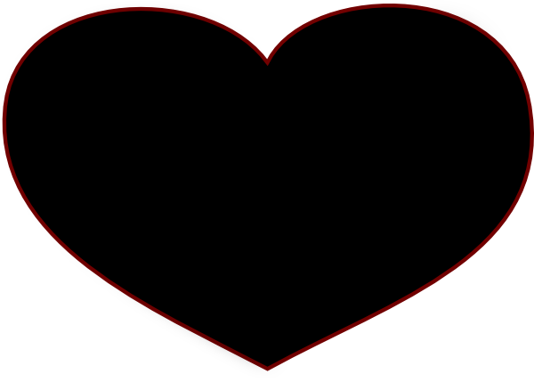 13 black heart pictures free cliparts that you can download to you ...: www.clipartbest.com/black-heart-pictures