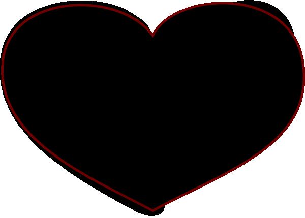 Black Heart Stone clip art - vector clip art online, royalty free ...: www.clipartbest.com/black-heart-pictures