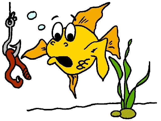 Funny cartoons fish hook clipart best clipart best for Fish and hooks