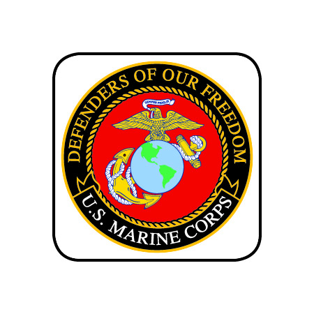 Marine Corps Logo Magnet :: Magnets :: FC Gear Store